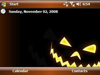 Halloween theme - Тема для Today.