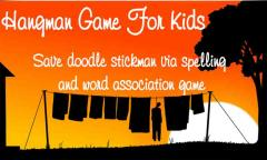 Hangman Game For Kids - Words save doodle stickman
