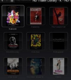 Showtime Plugin HD Trailers