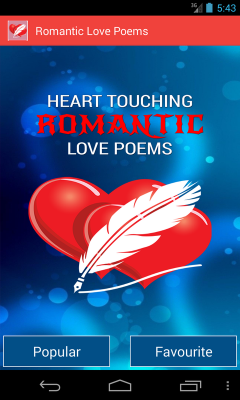 Heart Touching Romantic Poems