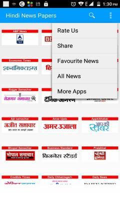 Hindi News Papers