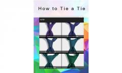 How tie a tie