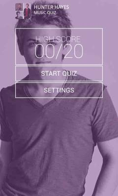 Hunter Hayes Music Quiz