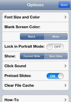 i-Clickr PowerPoint Remote Lite for iPhone/iPad