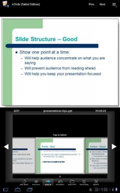 i-Clickr PowerPoint Remote for Android Tablets