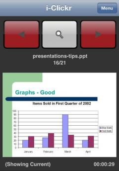 i-Clickr PowerPoint Remote for iPhone