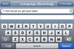 iLanguage - Slovenian to English Translator