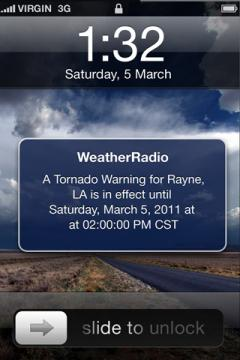 iMap Weather Radio