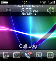 iPrecision Theme for Blackberry 8100 Pearl