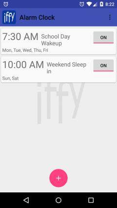 IFFY Conditional Alarm Clock