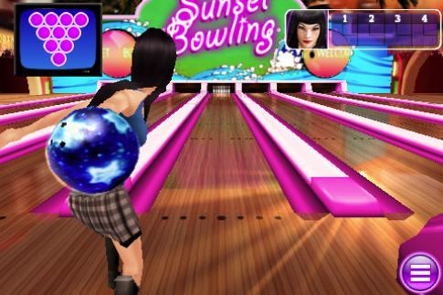 Отличный эмулятор игры в боулинг для iphone