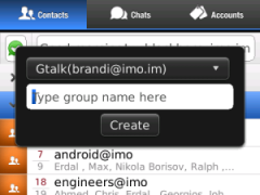 imo instant messenger for BlackBerry