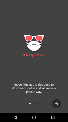 Incognitus - Private Browser and Video Downloader
