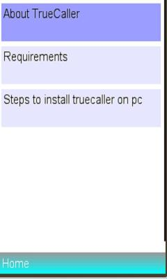 Info On Truecaller on PC