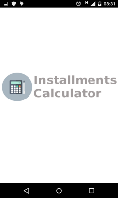 Installments Calculator