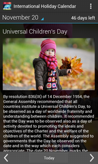 International Holiday Calendar