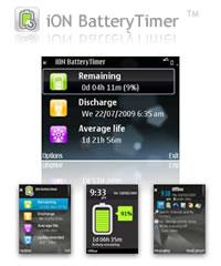 iON BatteryTimer for S60 3rd