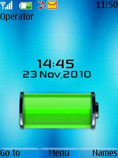 Iphone Battery Clock