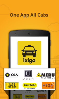 ixigo cabs- book taxi in India