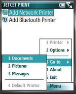 JETCET PRINT for Windows Mobile Standard
