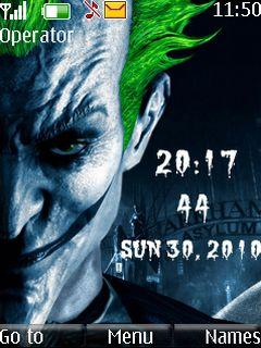 Joker Clock