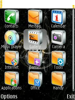 Тема для Nokia Series 60.