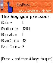 KeyPress