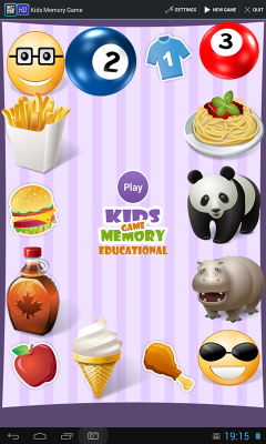 Kids Memory Game 2 - Educational