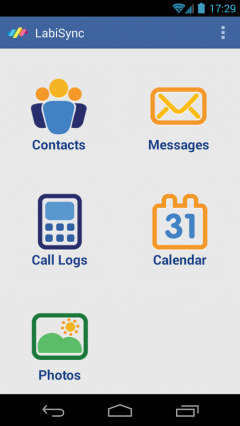 LabiSync-calendar sms contacts