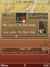 LCG Jukebox Symbian