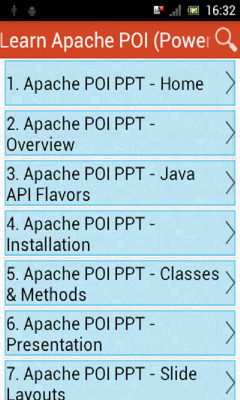 Learn Apache POI Powerpoint