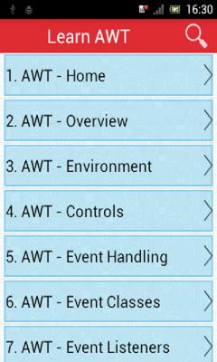 Learn AWT