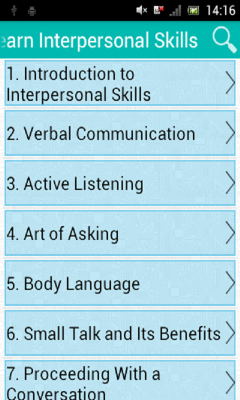 Learn Interpersonal Skills