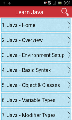 Learn Java v2