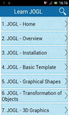Learn JOGL