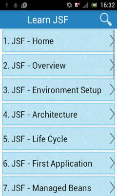 Learn JSF