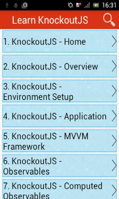 Learn KnockoutJS