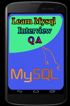 Learn Mysql Interview Q A