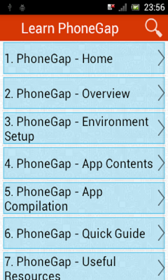 Learn PhoneGap