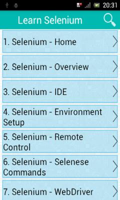 Learn Selenium