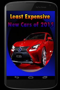 Least Expensive New Cars of 2015