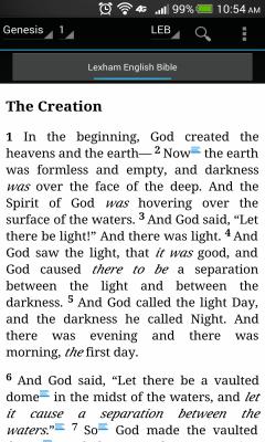 Lexham English Bible