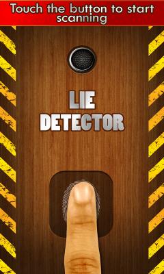 Lie detector prank game