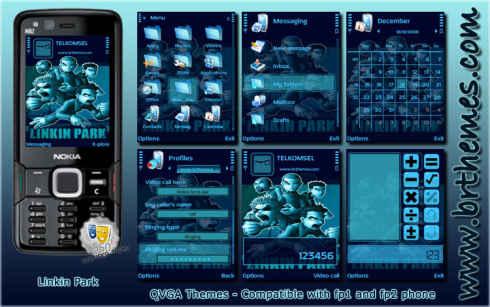 Тема для Nokia 3rd Edition.