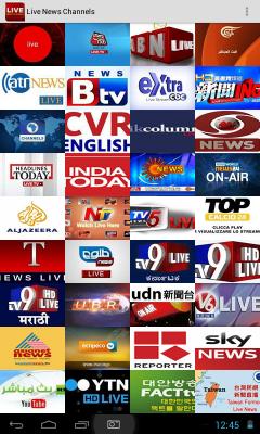 Live News Channels