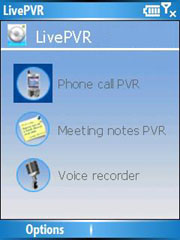 LivePVR Phone call & Meeting Recorder