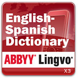 ABBYY Lingvo x3 Mobile English - Spanish Oxford Concise Dictionary