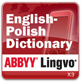 ABBYY Lingvo x3 Mobile English - Polish Dictionary