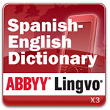 ABBYY Lingvo x3 Mobile Spanish - English Oxford Concise Dictionary