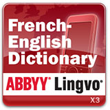 ABBYY Lingvo x3 Mobile French - English Concise Oxford Hachette Dictionary